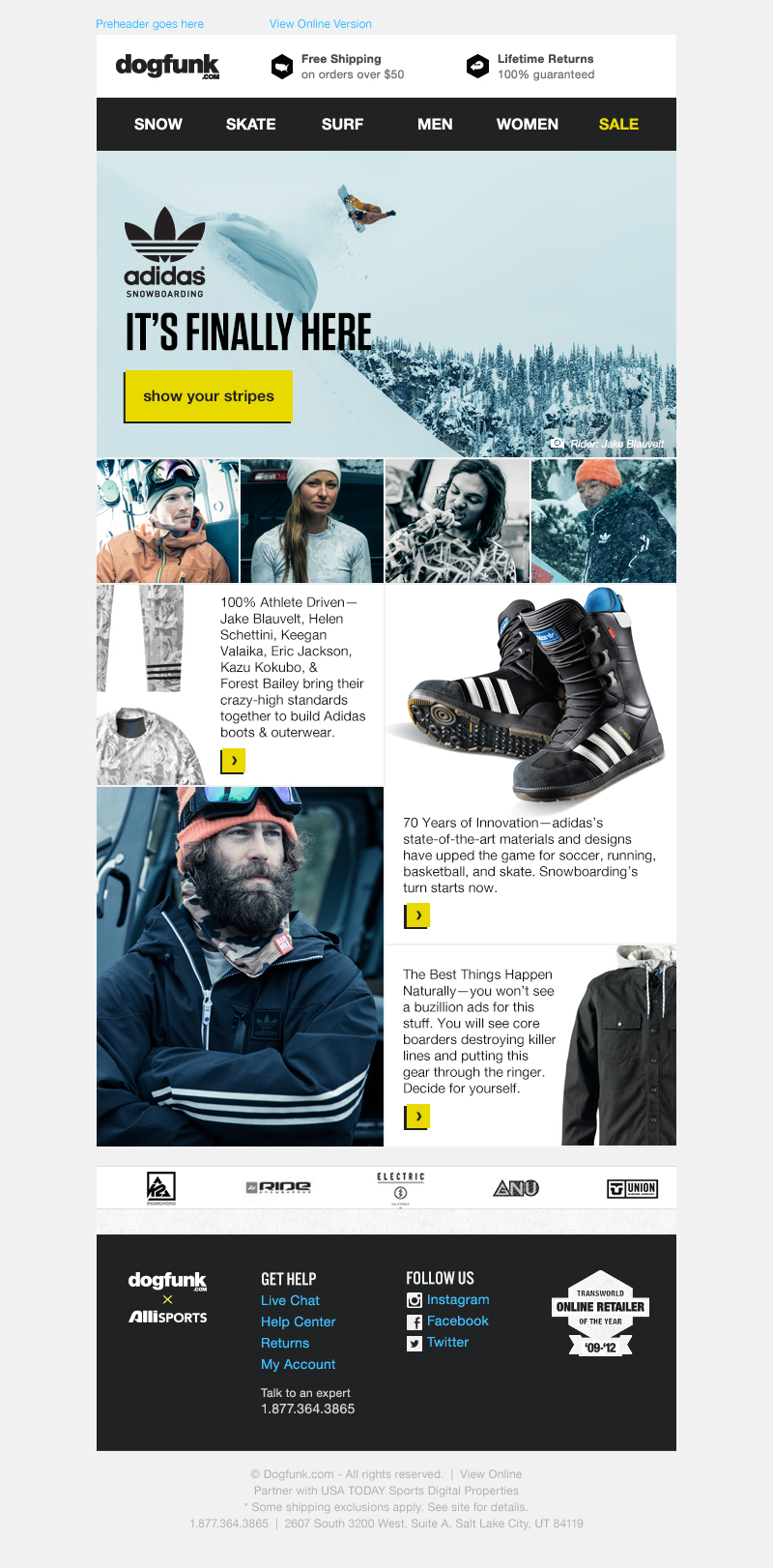adidas dogfunk email