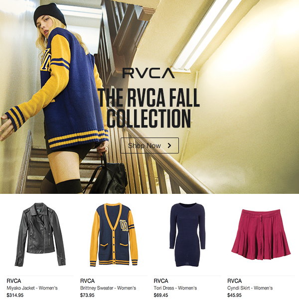 RVCA Women's Fall Collection